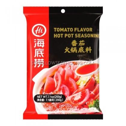 Steamboat Soup Tomato 番茄火锅底料 HAI DI LAO - 200gm/34pkt/Ctn