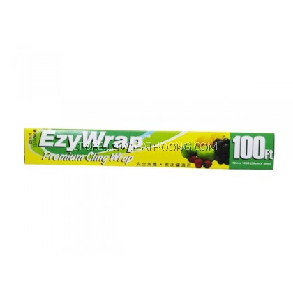 Kertas (Cling Film/Household 100ft) 保鲜纸 12inches EZWRAP 300mmx30m - 50gulung/ctn