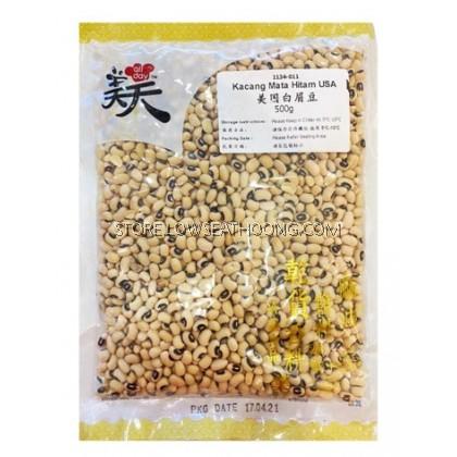 Kacang Mata Putih USA 美国白眉豆 - 500g/pkt