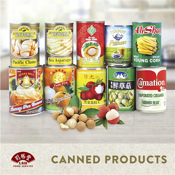 CANNED PRODUCTS 罐头食品